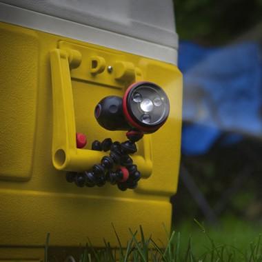 JB00153-CM6 светодиодный фонарик Gorillatorch Flare черный/красный (blister)