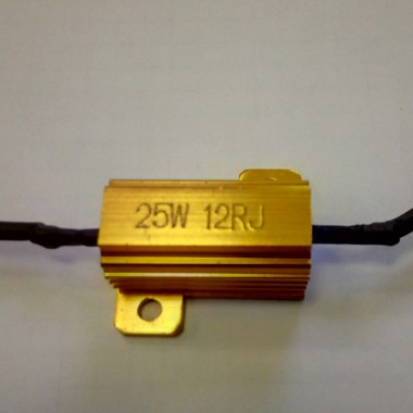 Нагрузочный резистор-обманка 25W