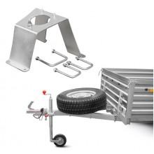 Крепление запасного колеса МЗСА R16