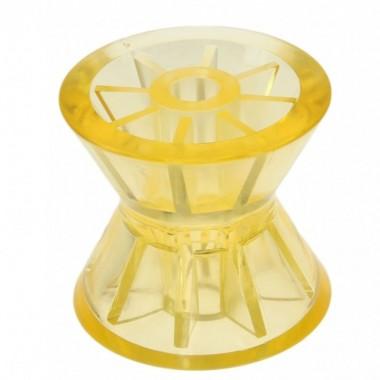 Ролик носовой  L=101 мм D=91/45/14 мм PVC желтый C11204S