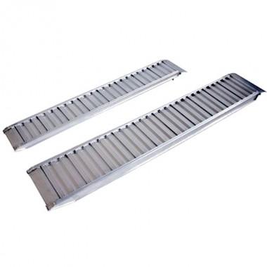 Рампа 2000x400x90 мм, высота погрузки 450 мм, алюминиевая, прямая Profi