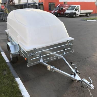 Прицеп ЛАВ (Вектор) 81011А ЕВРО с крышкой