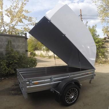 Прицеп МЗСА 817702 с крышкой