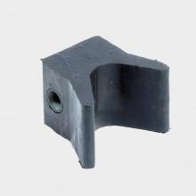 Упор носовой резиновый серый 360722