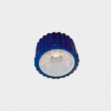 Ролик боковой поддержки  L=75 мм D=128/26 мм PVC синий