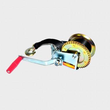 Лебедка барабанная Ермак с фалом и крюком 450кг. арт. 737-007
