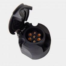Розетка пластиковая 7-ми контактная TBS-0003