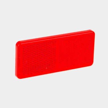 Катафот прямоугольный красный