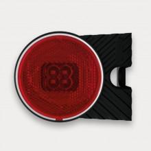 Фонарь габаритный FT-060 L C+K левый красный