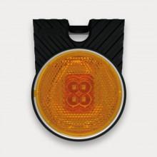 Фонарь габаритный FT-060 Z+K желтый