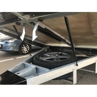 Крепление запасного колеса Сталкер снаружи под пол