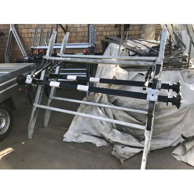Ось для рессорной подвески для легкового прицепа МЗСА 817719