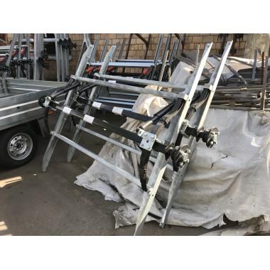 Ось для рессорной подвески для легкового прицепа МЗСА 817718