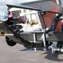 Подвеска для бортового прицепа