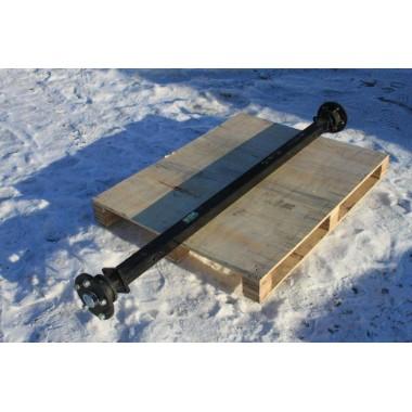 Ось для рессорной подвески для легкового прицепа МЗСА 817710.016, 01.016