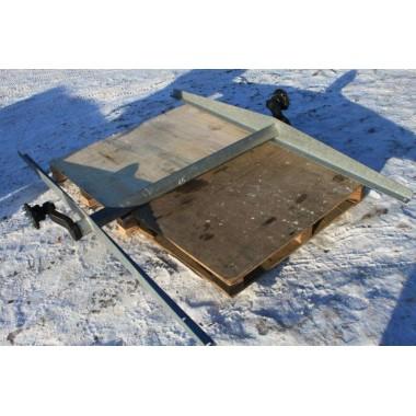 Ось резино-жгутовая для прицепов МЗСА без тормоза 817715.001