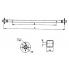 Ось для рессорной подвески для легкового прицепа МЗСА 817730