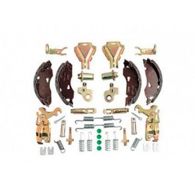 Набор колодок расширенный для тормоза 2051 на ось 1000, 1300,1500 кг