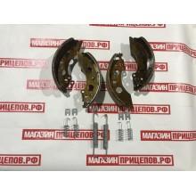 Комплект тормозных колодок для тормоза 2051 на ось 1000, 1300,1500 кг